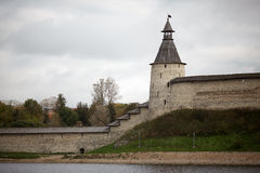 The historic architecture of the Slavs Royalty Free Stock Photo