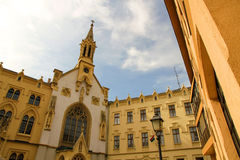 Historic architecture in Sopron Royalty Free Stock Images