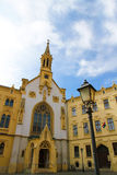 Historic architecture in Sopron Royalty Free Stock Photography