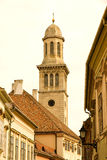 Historic architecture in Sopron Stock Photo