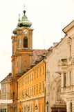Historic architecture in Sopron Royalty Free Stock Image