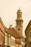 Historic architecture in Sopron Stock Photography