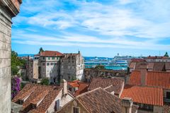 Historic architecture, Split Royalty Free Stock Images