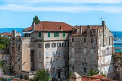 Historic architecture, Split Royalty Free Stock Photography