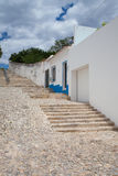Historic architecture in Tavira city, Algarve Stock Photography