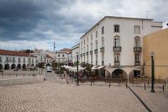 Historic architecture in Tavira city, Algarve,Portugal Royalty Free Stock Image
