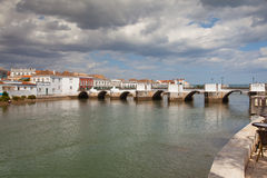 Historic architecture in Tavira city, Portugal Royalty Free Stock Photography