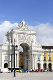 Historic Architecture - Triumph Arch, Lisbon Royalty Free Stock Photography