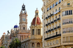 Historic Architecture in Valencia Stock Photos