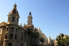 Historic Architecture in Valencia Royalty Free Stock Photo