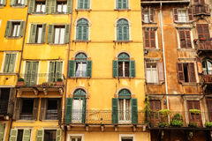 Historic architecture in Verona Royalty Free Stock Photo