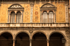 Historic architecture in Verona Stock Photos
