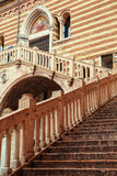 Historic architecture in Verona Stock Image