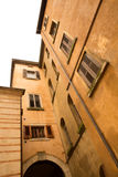 Historic architecture in Verona Stock Images