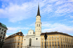 Historic Architecture in Vienna Royalty Free Stock Photography