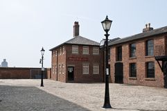 Mermaid House, Albert Dock, Liverpool, UK stock photo