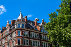 Historic area of the old London near Russell Square Royalty Free Stock Images