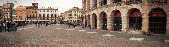 Historic arena in Verona Royalty Free Stock Images