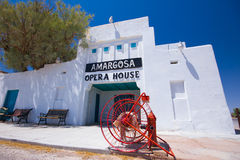Historic Armagosa Opera House and Hotel Stock Photo