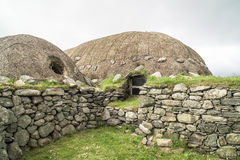 Historic Arnol Blackhouse, Scotland Royalty Free Stock Photo