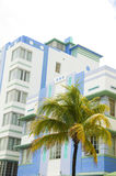 Historic art deco architecture south beach miami Royalty Free Stock Photography