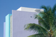 Historic Art Deco - Miami, Florida. Historic and famous Art Deco Architecture in Miami, FL Stock Images
