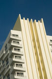 Historic Art Deco - Miami, Florida. Historic and famous Art Deco Architecture in Miami, FL Stock Photo