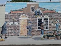 Historic art mural Stock Photos
