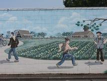 Historic art mural Royalty Free Stock Image