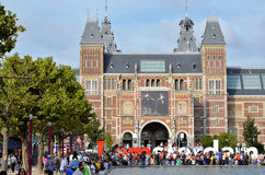 Historic art museum in Amsterdam Royalty Free Stock Photo