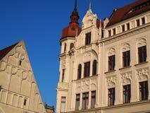 Historic Art Nouveau Buildings royalty free stock photography