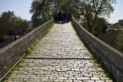 Historic Artas stone bridge at Greece. Historic stone bridge of Arta at Greece Royalty Free Stock Photography