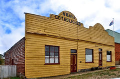Historic Australian timber building  Stock Photography