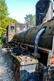 Historic Austrian steam engine Stock Photography