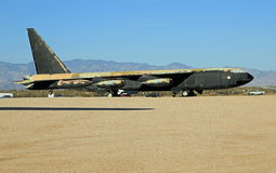 Historic B-52 bomber Stock Photo