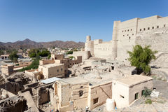 Historic Bahla Fort in Oman Stock Image
