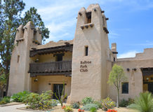 The historic Balboa Park Club Stock Image