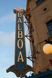 Historic Balboa Theatre Stock Photography
