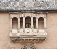 Historic balcony Stock Photography