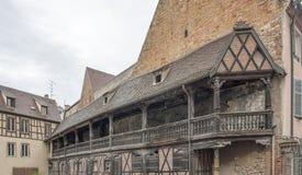 Historic balcony Royalty Free Stock Images