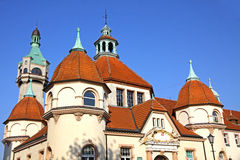 Historic Balneology Building in Sopot, Poland Stock Photos