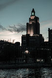 Historic Bank of America Building, Providence, RI. Stock Photography