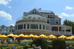 Historic Bar Harbor Inn in Bar Harbor Royalty Free Stock Photos
