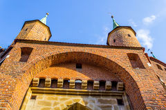 Historic Barbican in Cracow, Poland Royalty Free Stock Image