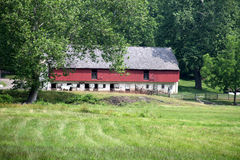 Historic Barn – Hopewell Furnace Royalty Free Stock Photo