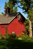 Historic Barn. Built in 1882 in Bishop Hill, Illinois Stock Photography