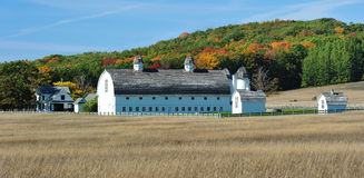 Historic barn Autum Sleeping Bear Dunes,  Michigan Stock Photography