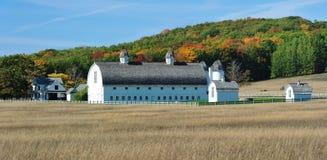 Free Historic Barn Autum Sleeping Bear Dunes, Michigan Stock Photography - 23793702