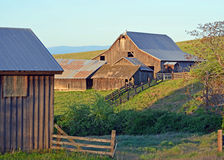 Historic Barn, On Dalles Ranch Land. This barn is part of the Historic Dalles Mt Ranch in the Columbia river gorge Stock Photo