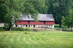 Historic Barn – Hopewell Furnace Royalty Free Stock Photo